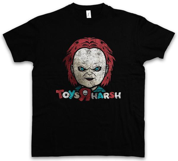 SPIELZEUG-R HARSH T-SHIRT Braut-Samen des Geschichten-Spaßes Chucky Sterben das Spiel des Blut-Kindes Coole zufällige Stolz-T-Shirt Männer