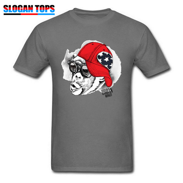 Hip Hop Tees Monkey Hipster T-shirt New Arrival Men's T Shirt Round Neck Short Sleeve 100% Cotton Summer TShirt Top Quality