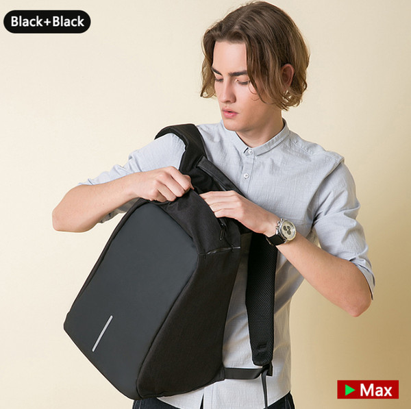 USB Charge Laptop Bags Large Capacity Waterproof Training Travel Bags Laptop backpack business computer backpack student bag wholesale