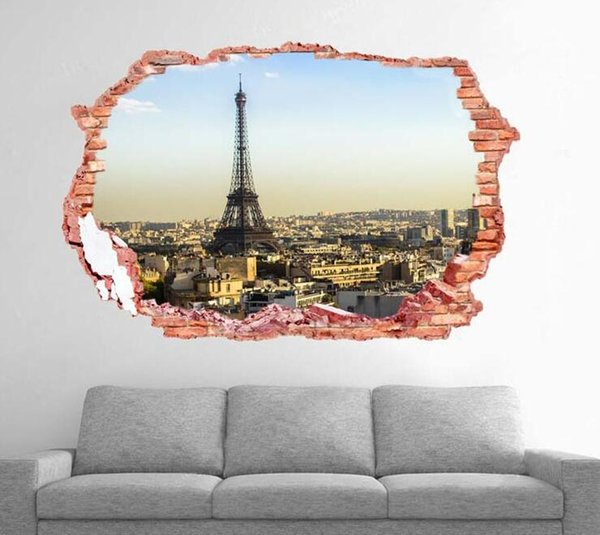 Mirror Environmental Protection Acrylic Wall Stickers Background Wall Decorated Crystal Three - dimensional