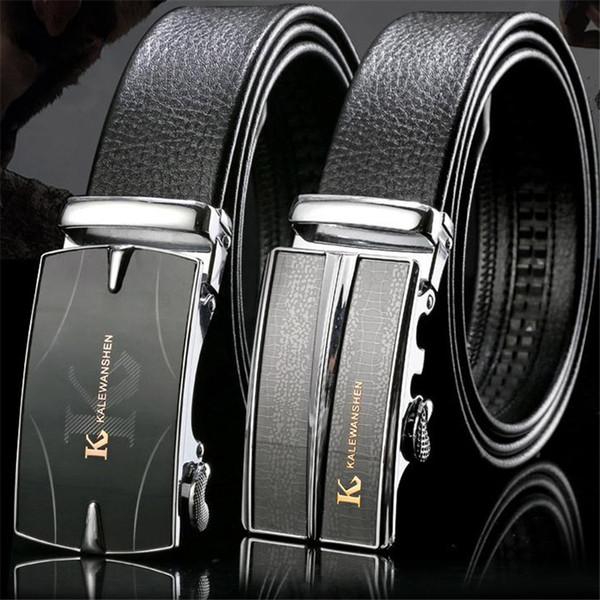 Designer Belts For Men Luxury Brand Fashion Top Quality Automatic Buckle Ratchet Belts Comfort Click Leather Belt Male Waist Strap Belt Box
