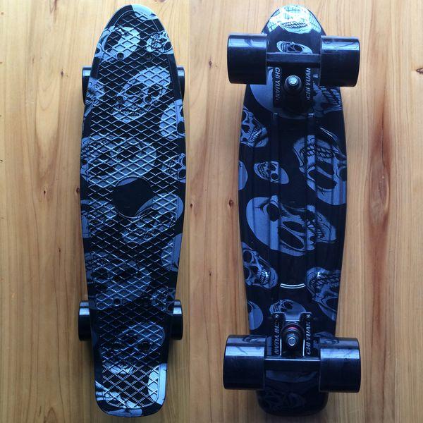 Plastic Skateboard Mini Cruiser 22