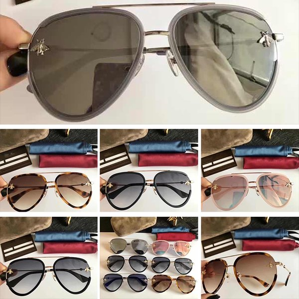 2048 new GG2209 Eyewear Luxury Sunglasses 2209 Elegant Special Designer With Built-In Circular Lens Top Quality Frame Come With Case