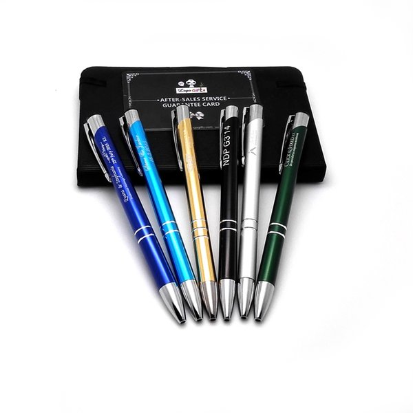 HOT unique wedding PARTY gifts/Giveaways cute colorful logo pen promotional products custom print with my wishes text