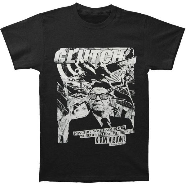 Clutch Herren Onkel Ronnie T-Shirt Schwarz Rundhals Bestseller Herren Natural Cotton Shirt TOP TEE