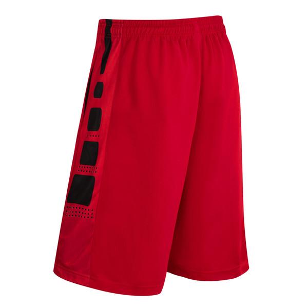 top popular New Elastic Pocket Soccer Jersey Basket Sportswear Loose Sport Fitness Men Shorts Tennis Men Zipper Basketball Shorts 2019