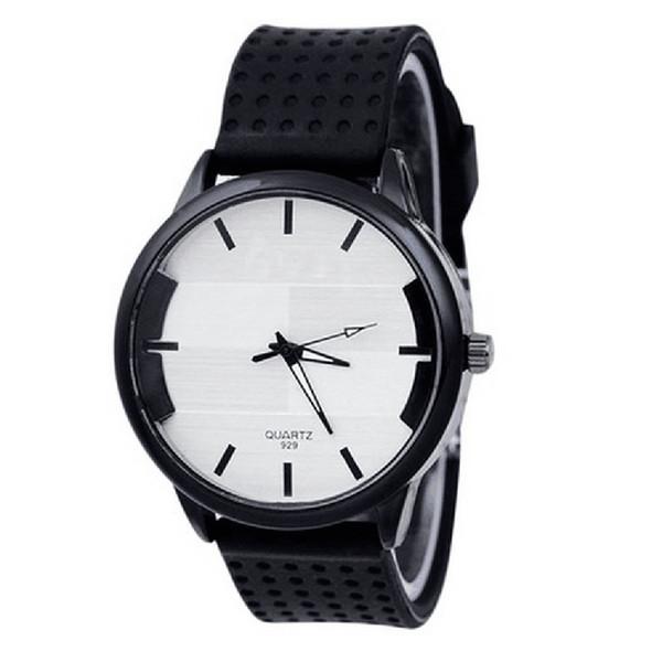 Neue Damen Silikon Uhr # 929 einfache rechteckige Dichtung Legierung Zifferblatt Quarz Sport casual Watch Armband zegarek damski a60