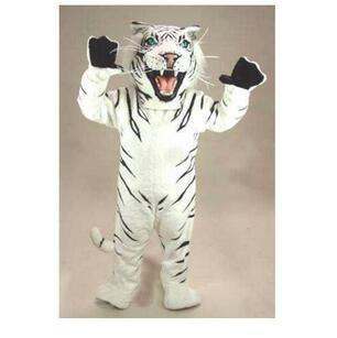 Mascot Costumes Adult Size high quality professional custom bengal tiger cat mascot head costume suit halloween