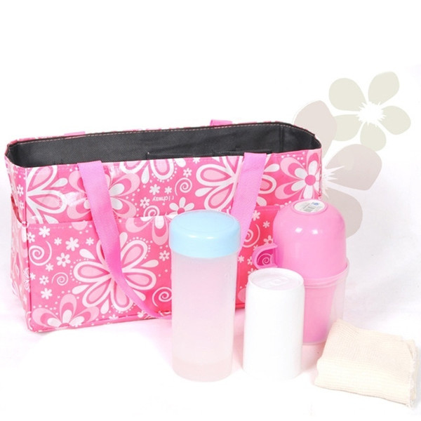 Travel Mom Bag Handbag Outdoor Portable Baby Diaper Nappy Organizer Insert Storage Waterproof Stuffs Big Storage Bag