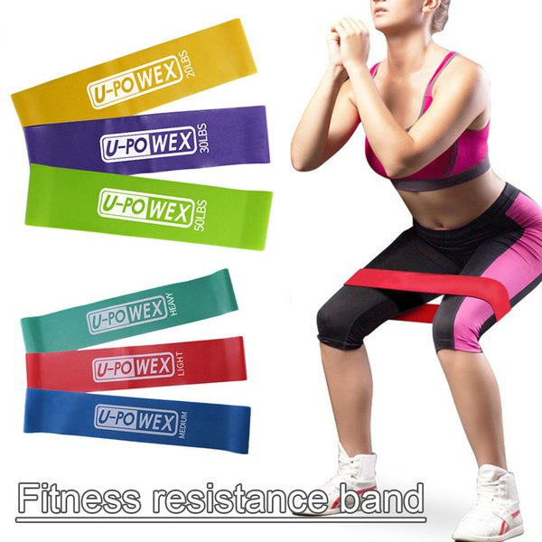 3Pcs/Set) Rubber Loop Bands Set Training Workout Resistance Bands for Sports Exercise CrossFit Stretching Fitness Body
