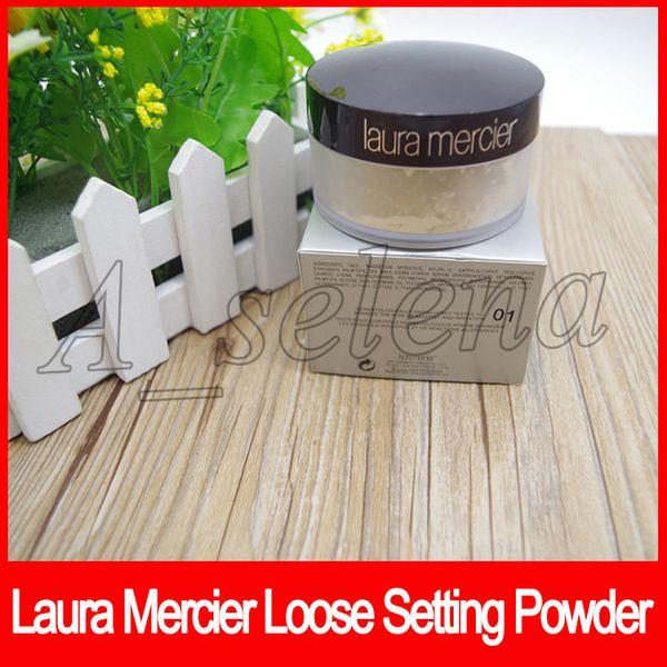 Laura Mercier Loose Setting Powder Waterproof Long-lasting Moisturizing Face Loose Powder Translucent Makeup 3 Colors free shipping