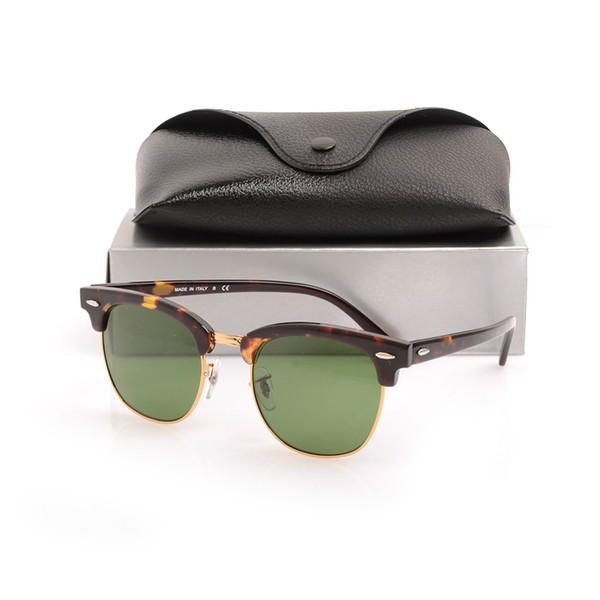 Tortoise Frame Green Lens 51mm