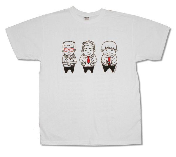 IL VOLO SKETCH IMAGE TOUR 2012 T-SHIRT BLANC NOUVEAU T-shirt imprimé couleur