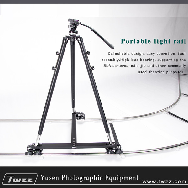 METRIX 6m Camera Rail Dolly Track With T-Shape Dolly Video Slider For Movie Photography DSLR