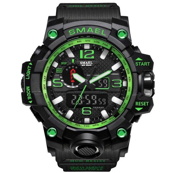 Schwarz Grün