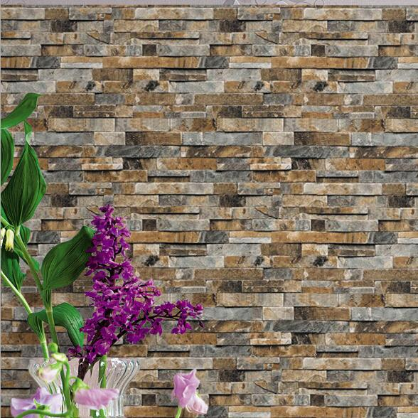 3d Brick Wall Wallpaper Stereoscopic Faux Stone Wallpapers For Living Room Tv Background Vinyl Wallpaper Papier Peint Mural 3d Free Wallpapers