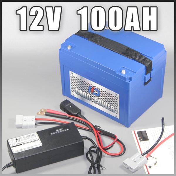 Acheter De359 BatterysirDhgate 12v Lampe Rc Avec com Ion 500w Boîtier 100ah Solaire Batterie Lithium Led 8 Du BrxoeCWQdE