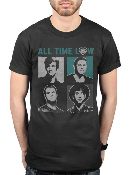 Official All Time Low Runways T-Shirt MTV Unplugged The Party Scene Dirty Work Hot Cheap Men'S