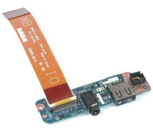 Latitude E7450 Güç Düğmesi / USB / Ses Bağlantı Noktası IO Devre Kartı - 110HR için Wellendorff Orijinal kurulu