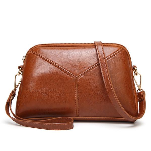 Leather Fashion Women Handbag PU Leather Patchwork Lady Handbag Shoulder Bag Solid Color Messenger Bag Women