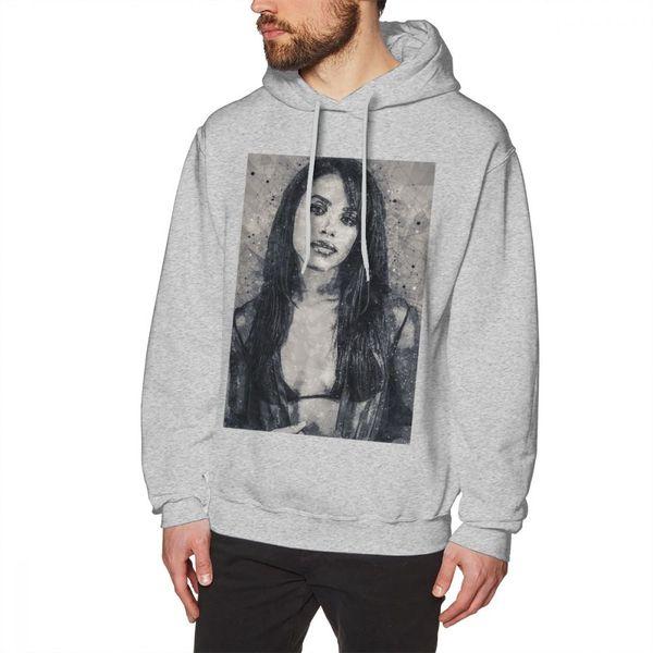 Aaliyah Hoodie Aaliyah Geometric Art Print Hoodies Cotton Purple Pullover Hoodie Popular Over Size Men Long Autumn Hoodies