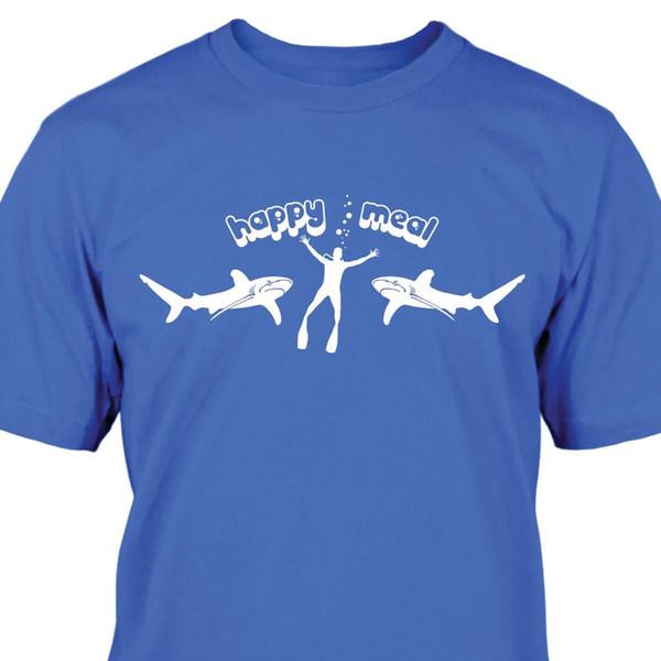 Großhandel Details Zu Hai Happy Meal T Shirt Lustiges Gratis Versand Unisex Lässiges Geschenk Von Lukehappy11 1281 Auf Dedhgatecom Dhgate