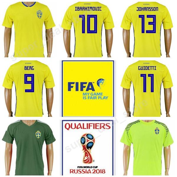 Soccer Manica Lunga Sport Zlatan Ibrahimovic # 9 Maglia da Calcio Jersey T Uomo Maglie Tuta