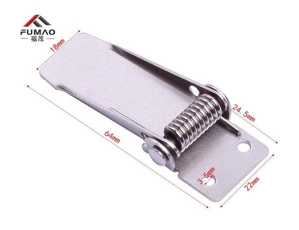 Custom 10Pcs 64mm Length Fasteners Ceiling Spring Clips for Led Panel
