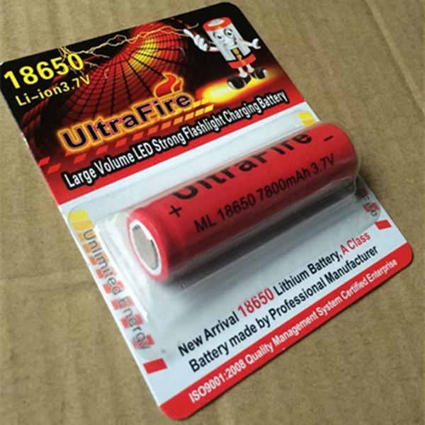 100% Yüksek Kalite 18650 Pil 7800mAh 20A Şarj Edilebilir Lityum Piller. Güçlü ışık el feneri elektronik sigara kullanılabilir bir