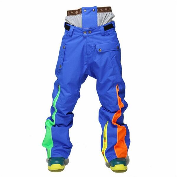 StormRunner 2018 Winter New Style Men Snow Pants Free Shipping Board Waterproof, Warm Waist Guard, Ski Pants Ski Men's