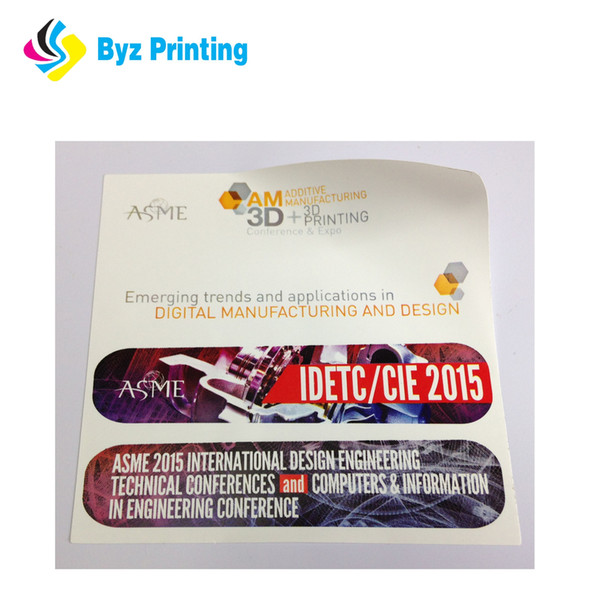 Hot sales for Customized Logo Die Cut Waterproof Vinyl Sticker Custom Sticker printing for packaging