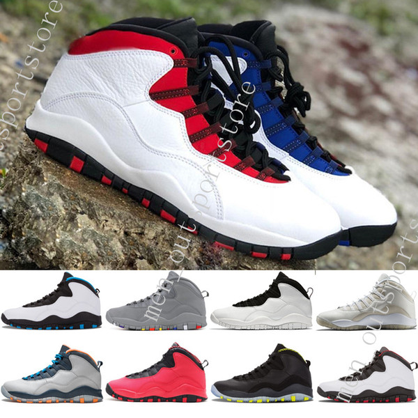 10 10s Westbrook Cool Grey mens basketball shoes I'm Back Drake Red Black Sports Sneakers trainers outdoor designer running shoes for men