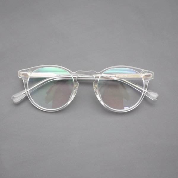 2019 Vintage Optical Glasses Frame Gregory Peck Retro Round Eyeglasses For  Men And Women Acetate Eyewear Frames From Htiancai, $35 9 | DHgate Com