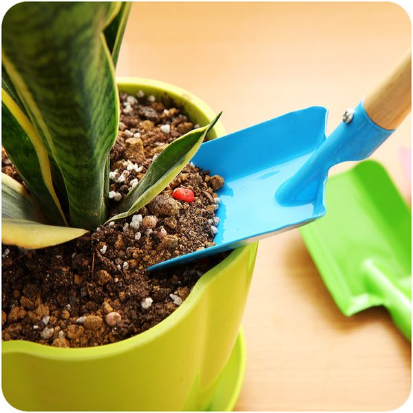 Mini pá de jardinagem colorido de metal pá pequena jardim pá ferramentas de hardware de escavação ferramentas de jardim crianças pá ferramenta