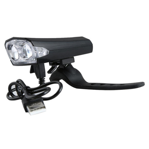 USB Şarj Q1107 * 20 ile Parlak Bisiklet Bisiklet Başkanı Ön Işık Torch Bisiklet Lambası