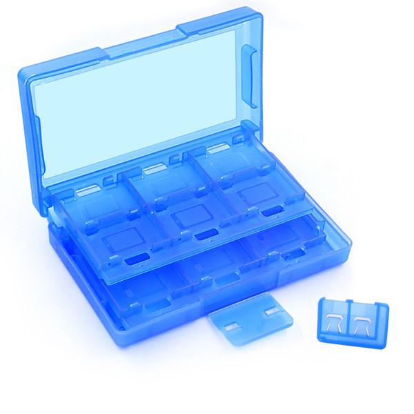 Étui de rangement pour cartes de jeu portables 24 en 1 + 2 fentes pour carte d'extension Micro SD pour boîtier de commutation NS Switch Coque dure DHL FEDEX EMS LIVRAISON GRATUITE