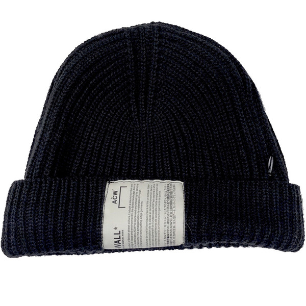 ACW A COLD WALL Gosha Rubchinskiy Knitted Hats Men Winter Beanies Vetements Toca Knit Skullies Streetwear Warm Snow Caps free ship