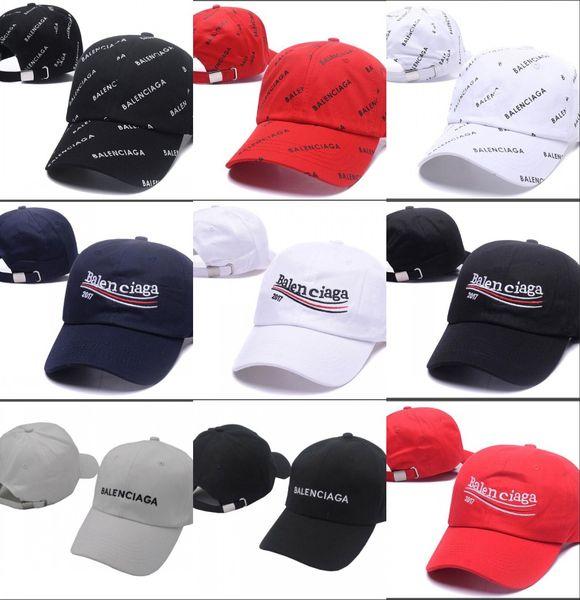 Casquette bonnet Wave de la marque 2018 cola logo 17FW Homme Femmes Unisexe Rouge Casquettes de baseball à dos casquette à casquettes chapeau noir
