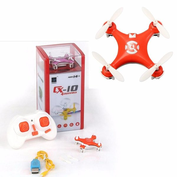 Cheerson CX-10 CX10 RC Quadcopter 4-CH 2.4GHz 6-Axle Gyro Mini Drone Helicopter Mode 1 Mode2