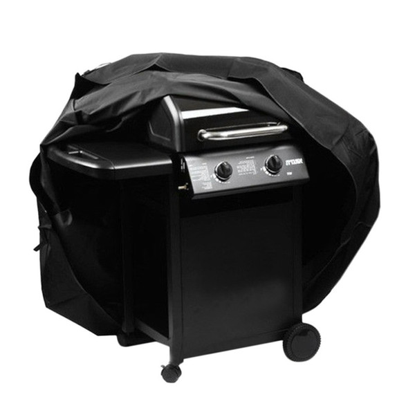 57 Inch Waterproof Rain BBQ Cover Patio Gas Barbecue Grill Outdoor Protective Storage For Electric Gas Charcoal Barbeque Grill