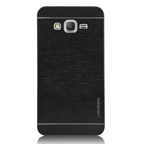 Note5 Edge+ Motomo PC Aluminum Metal Brush Case For Samsung Note 5 S6 Edge Plus Grand Prime G530 Core G360 A8 MOTO G3 ASUS Zenfone2 5.5