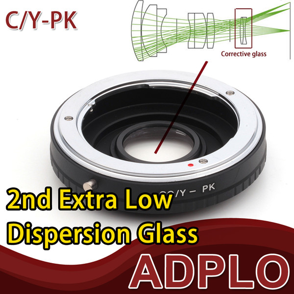 Optical Adapter Suit For Contax Yashica C/Y CY Lens To Pentax K PK K-5 II, K-30, K-01, K-5, K-r, K-x, K-7, K-m, K20D Camera