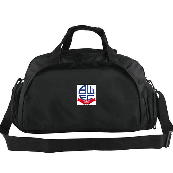 Bolton Wanderers duffel bags The Trotters club tote Football backpack Exercise luggage Soccer sport shoulder duffle Outdoor sling pack