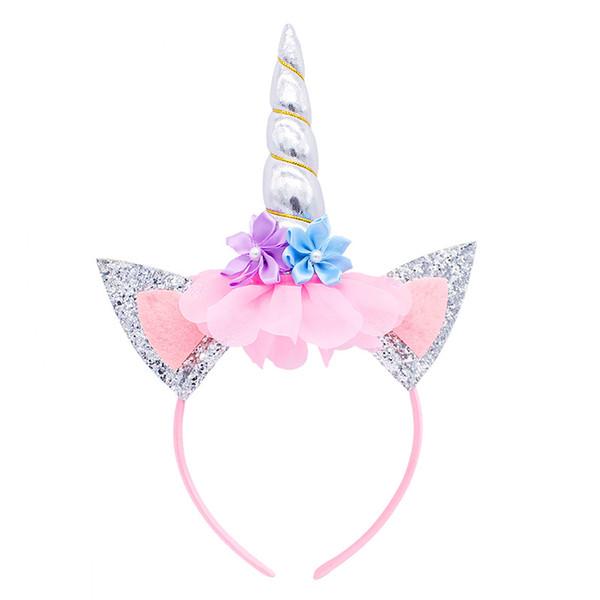 Cheap Unicorn Headband Europe and America Halloween Party Headband Horn Horn Hair Accessories Children's Christmas Day Hair Sticks