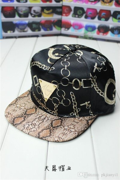 2019 star love 2019 new hip-hop hat Hater new chain triangle marked Baseball flat brimmed hat man