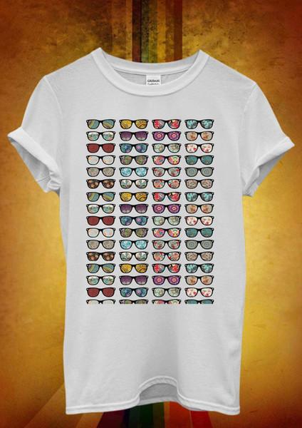 Солнцезащитные очки Летние каникулы Ретро Мужчины Женщины Унисекс Футболка Майка 516
