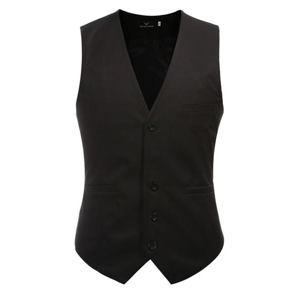 Erkek Takım Elbise Yelek Moda Düğün Erkekler Slim Fit Yelek Ve Yelek Erkekler Elbise Suit Yelek Artı Boyutu M-5XL Drop Shipping