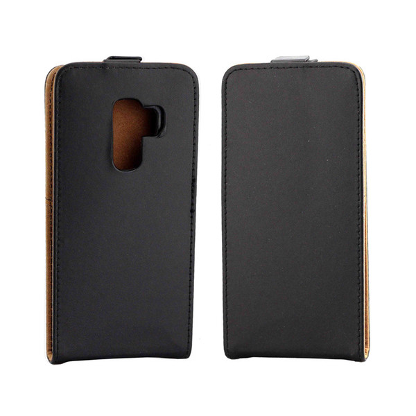 Business Leather Case For Coque Samsung Galaxy S9 Vertical Flip Cover Card Slot Cases For Galaxy S9 Mobile Phone Bags