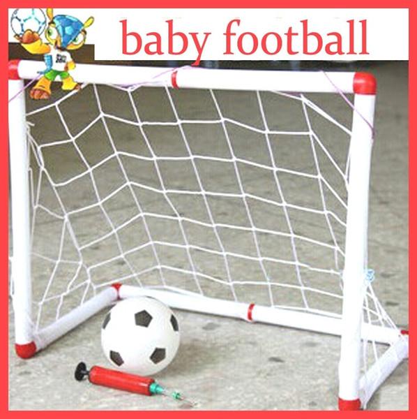 Children Outdoor Soccer Game Sport Toy Family Game Boy Plastic Football Goal Detachable Sets For Kids Birthday Gift YH-17