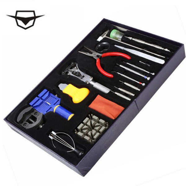 AILANG 20 sets of clock tools and clock pins, glass replacement, screwdriver are installed in the high-end watch repair